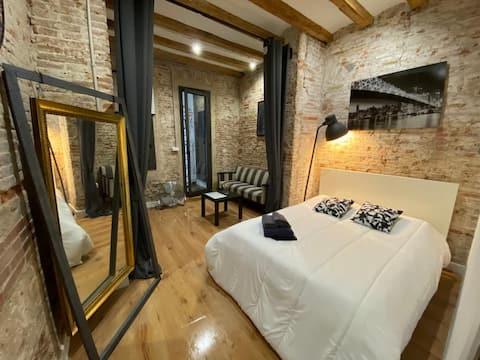 Room 5***** Rambla/Liceu Kitchen,Wc Not Shared
