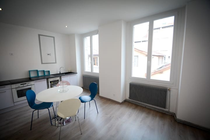 50m2 renovated near downtown,quiet - Saint-Étienne - Квартира