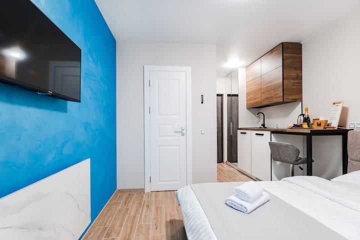 Апартаменты-студио в центре Киева (504)
