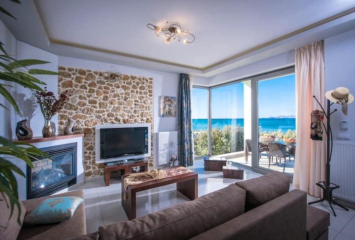 Aphrodite Villa  -  Beachfront Vacations