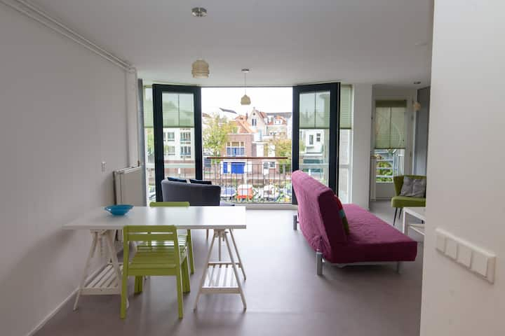 Loft in Dordrecht city centre with great view