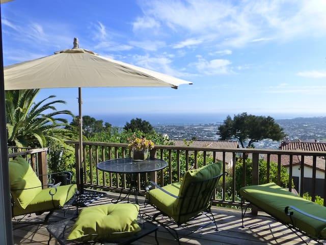 Gorgeous Riviera Home w Ocean Views - Santa Barbara - House