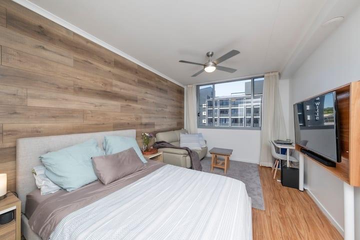 CBD Apartment - Netflix/Wi-fi/Free clean
