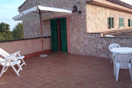 Wide double-room, bathroom and pool - Marratxí - Chalet