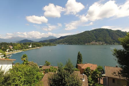 APARTMENT WITH LAKE VIEW - Caslano - Wohnung
