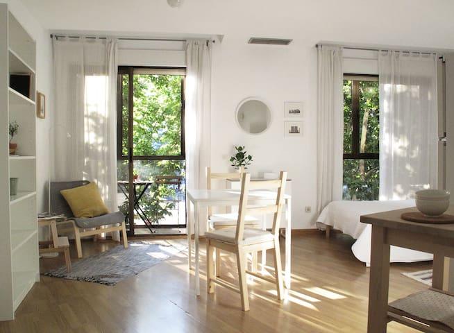 Apartamento luminoso en Malasaña