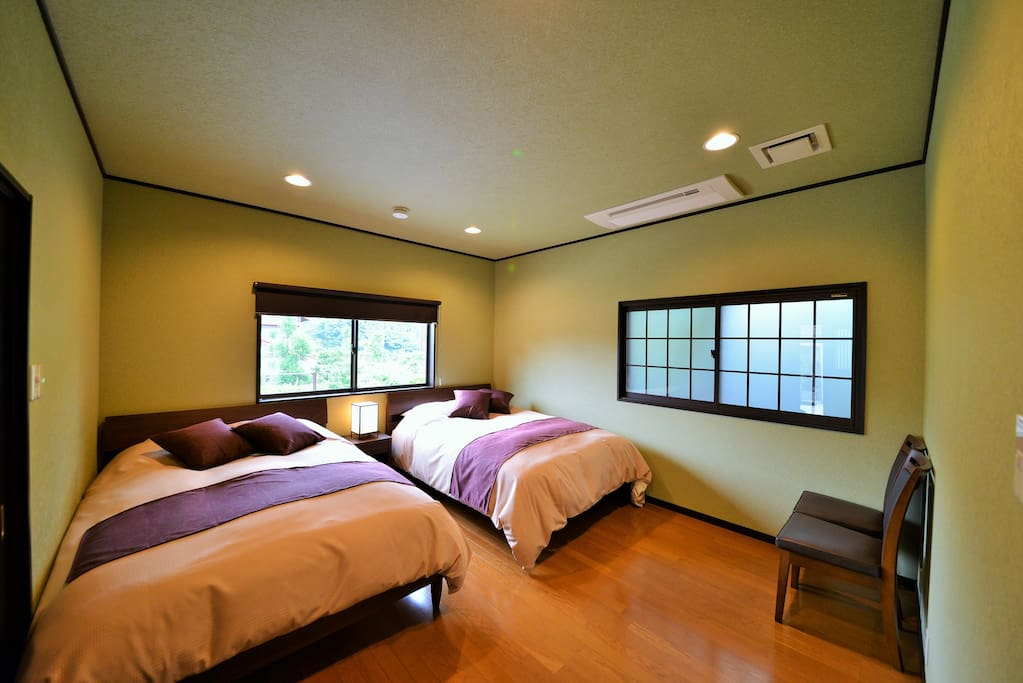 Bedroom from different angle