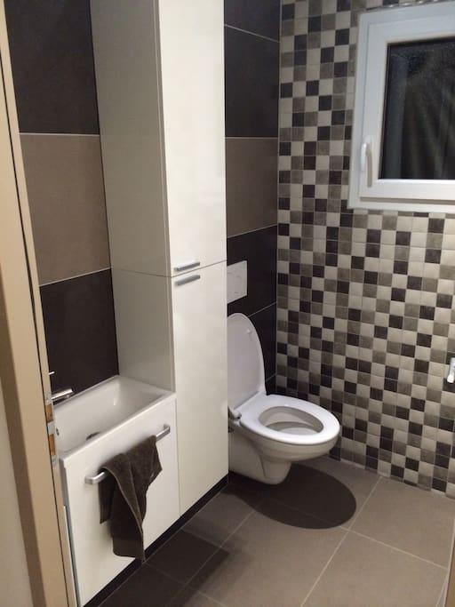 propretés des sanitaires (2 dans la maison)