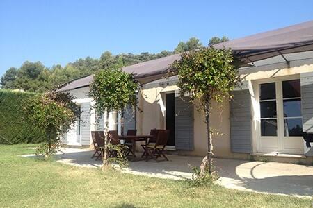 Villa avec piscine  sud Luberon - La Motte-d'Aigues - House