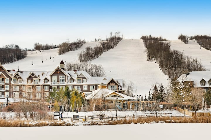 Large retreat perfect for a ski-cation w/ pool view & open concept!