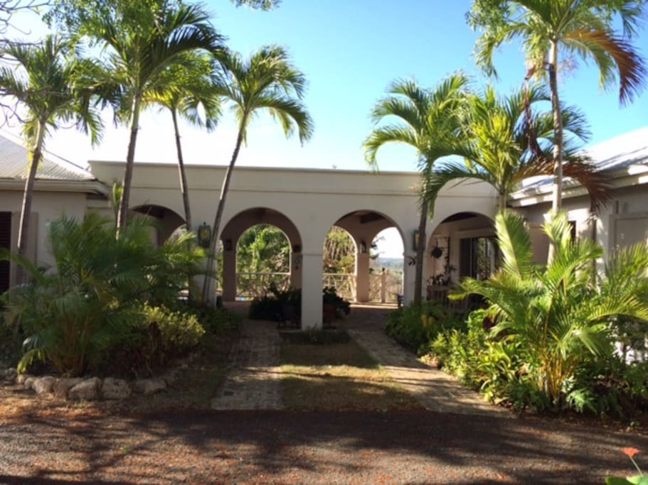Entrance Breezeway