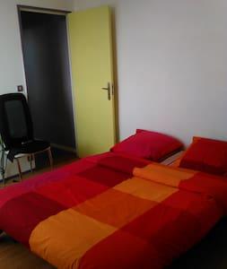 Chambre agréable dans appartement calme à Poitiers - 普瓦捷(Poitiers)