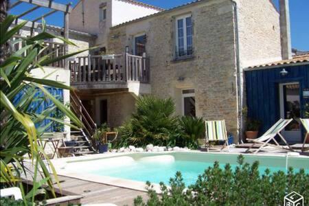Appart 2 chambres terrasse piscine - Saint-Georges-d'Oléron