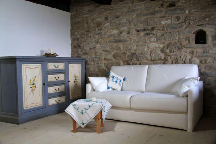 Appartamentino rustico a Villa Maindi - Pennabilli - Apartemen