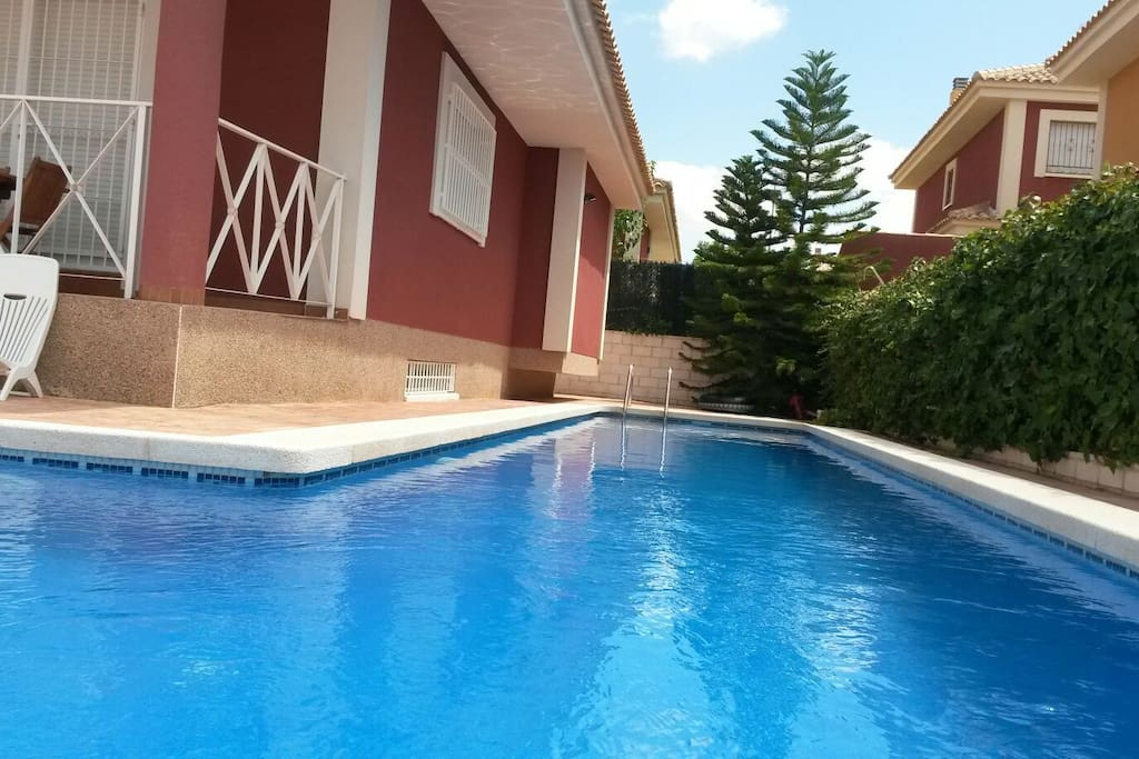 Chalet molina de segura murcia chalets for rent in for Piscina municipal molina de segura