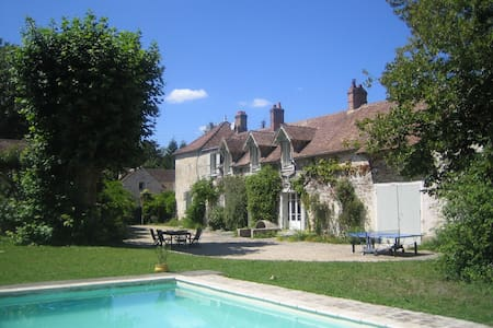 Charming family house swimming pool - Bourron-Marlotte