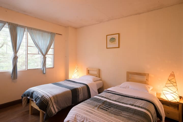 Twin room with two single beds (1)