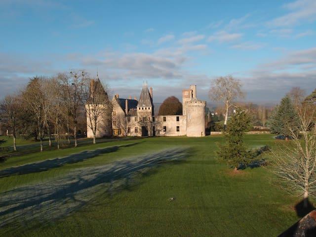 Suite privée dans un château (Nevers) - Urzy
