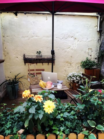 【一宿 yī sù】法租界 长乐路 近地铁 私人小花园 静安寺旁 - 上海 - Departamento