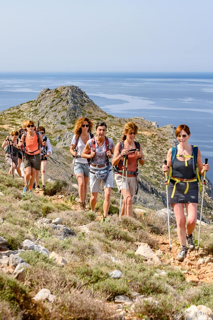 Trekking from Ancient Falassarna