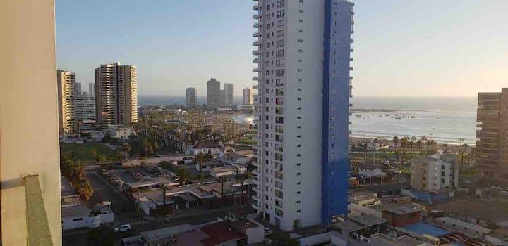 Departamento Completo, Con Vista a Playa Cavancha
