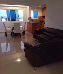 GREAT SEA VIEW APARTMENT - Santo Domingo - Flat
