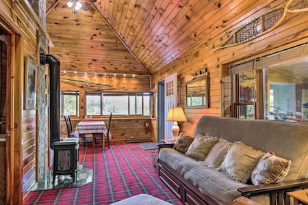 Waterfront Cable Cabin w/ Dock & Fire Pit!