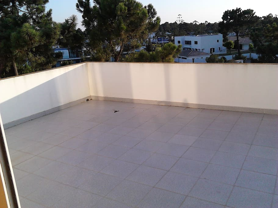 Our amazing terrace