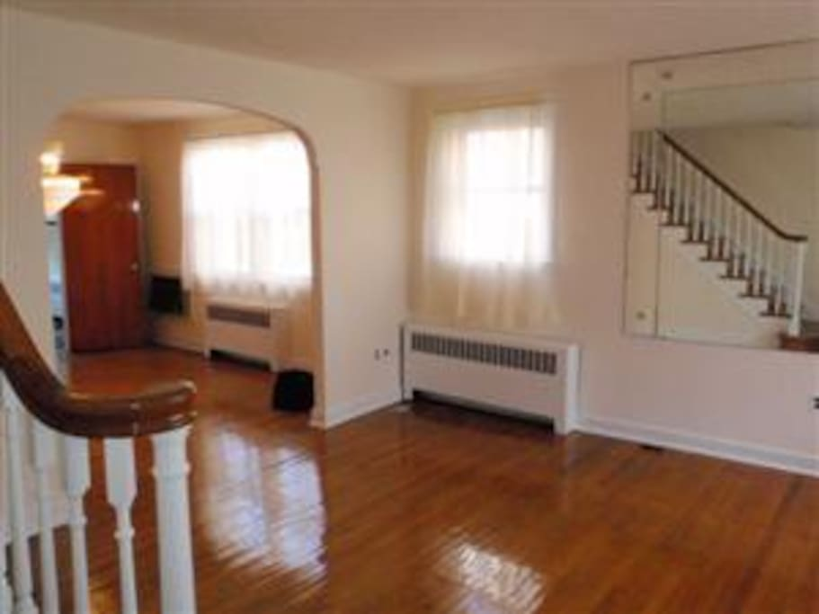 Bright, open, clean airy interior! (Fully furnished, not pictured).