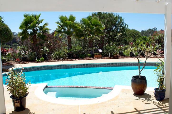 Encinitas Paradise Garden Retreat - Encinitas - Haus