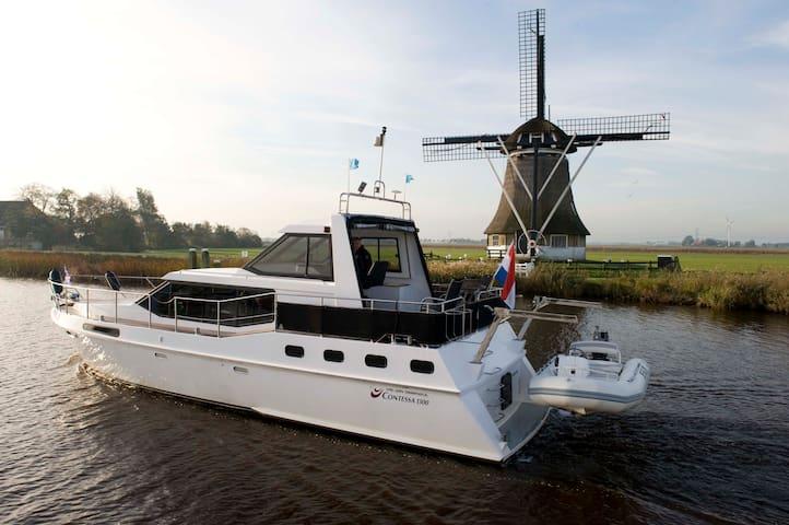 Luxe motorboot te huur per week - Sneek - Barco