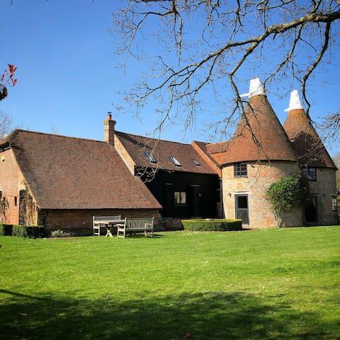Rural twin Oast House