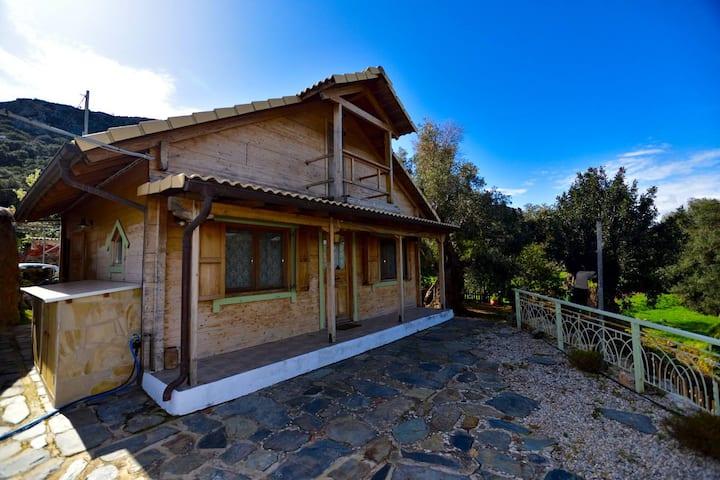 Wooden House in Kadros village