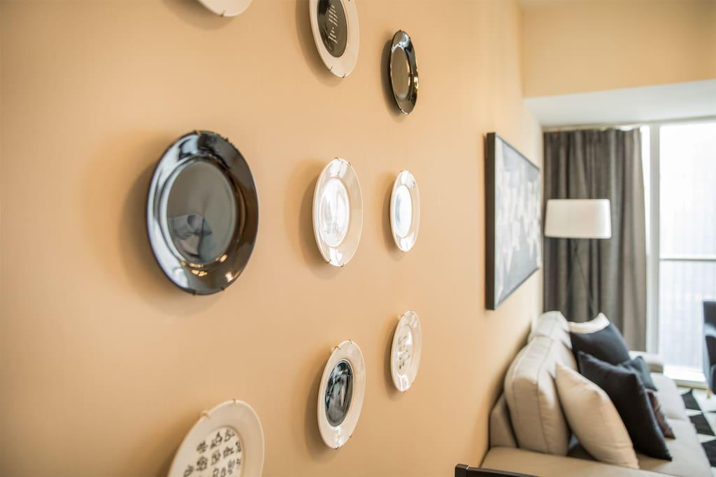 客厅墙装饰