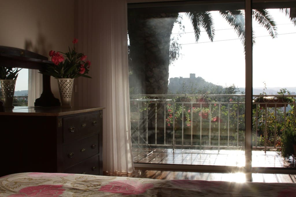 View from inside the bedroom / vista do quarto