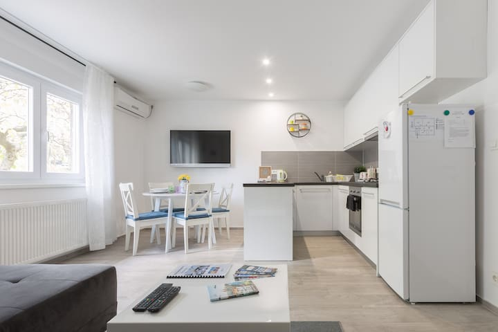 Jolie Apartment - family friendly, WiFi, parking