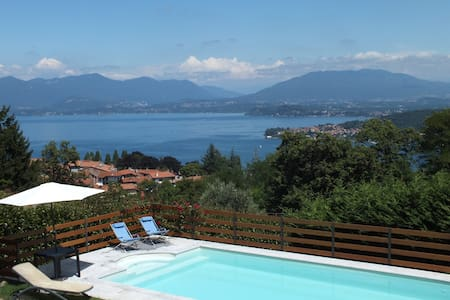 Amazing view over Lake Maggiore - Dagnente