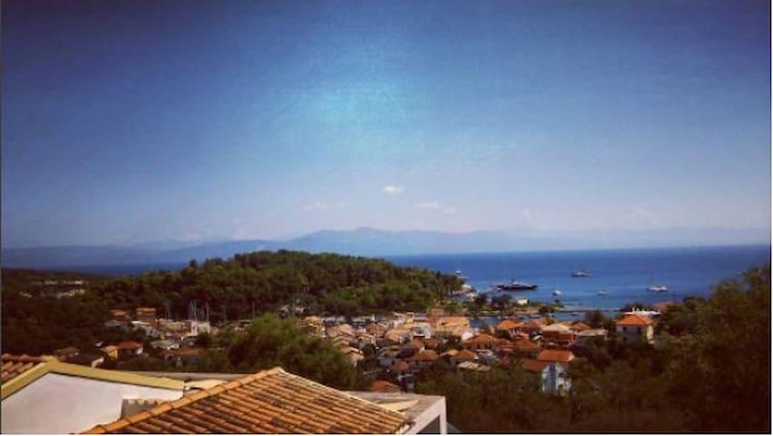 Amazing view studio.3bed+parking - Corfu - Apartment