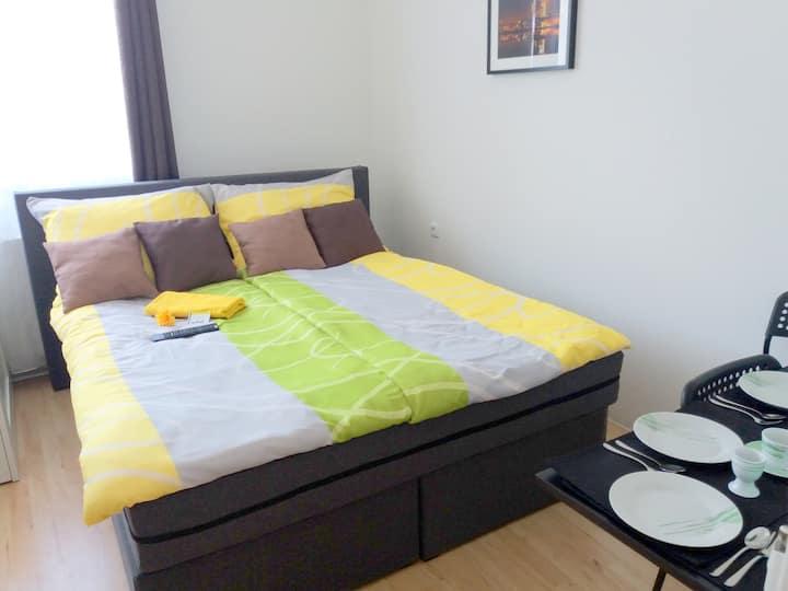 Apartments CITY Stadion 22 m2 (Kat. 203, 204, 207)