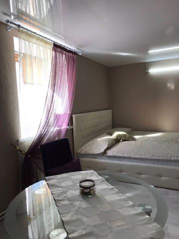 Уютная студия в центре города - Cheliábinsk