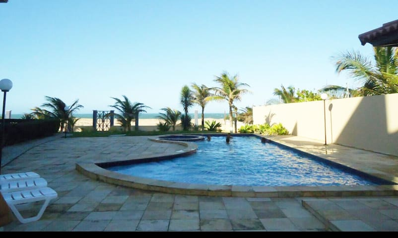 Apartamento de frente para o Mar da Taiba-Carnaval - Taiba - Apartamento