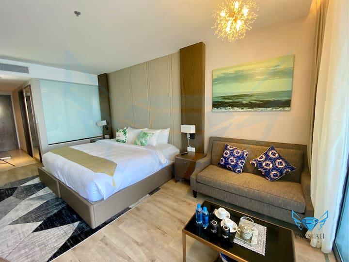 Crystali Deluxe Ocean View Room & Big Balcony 47m2