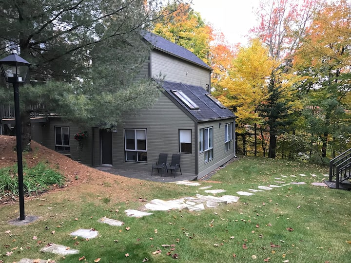secluded mountain side chalet w/Air conditioning!