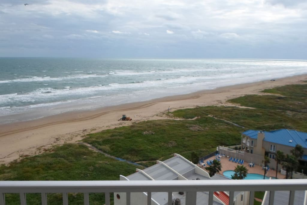 Main balcony view facing South East
