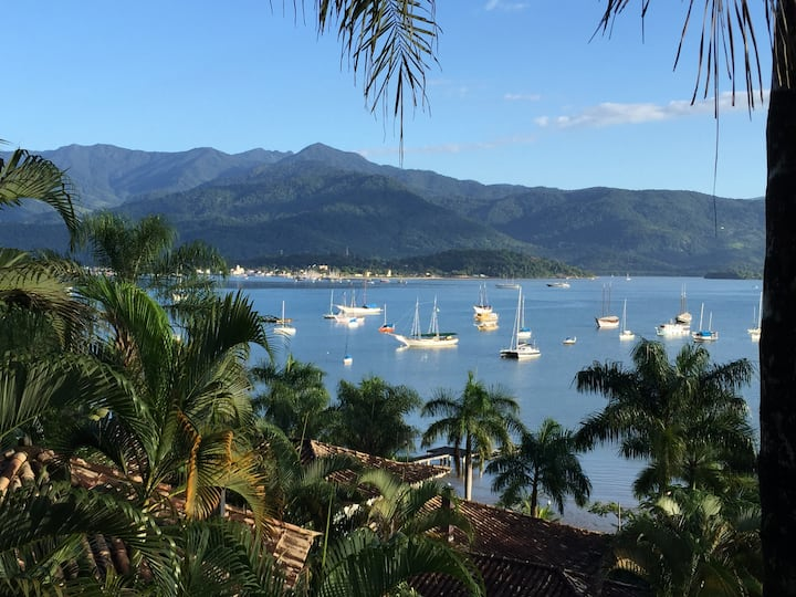 Splendid view - Paraty Bay & Marina
