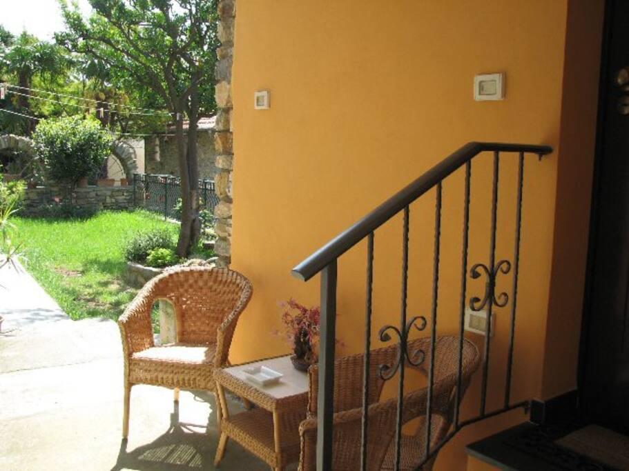 entrata appartamento Luciana 3