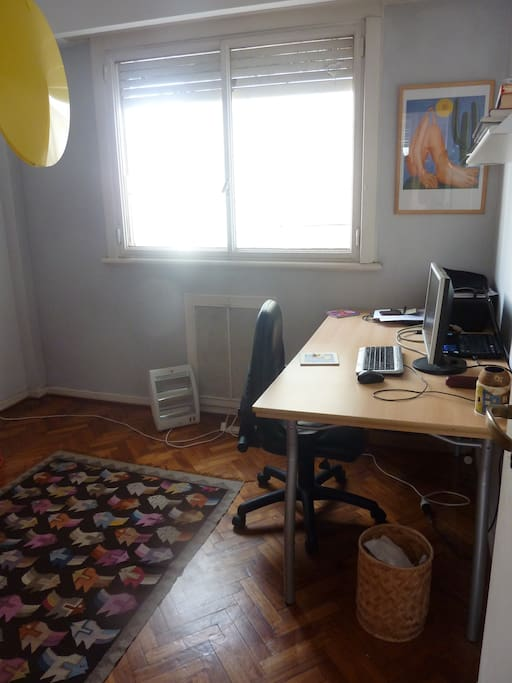 Office space and optional second bedroom