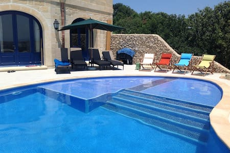 Luxurious farmhouse with pool in Xaghra, Gozo - Xaghra - Villa