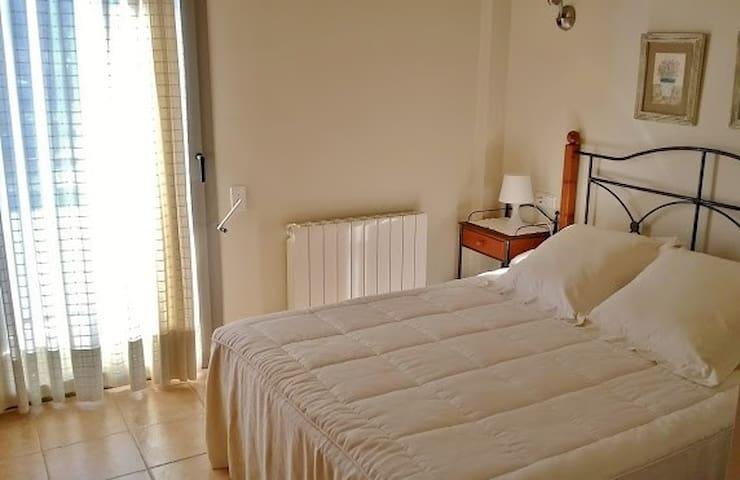 Schlafzimmer 1: mit Doppelbett
