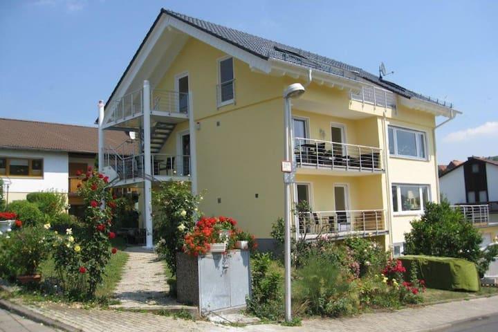 Appartement confortable avec jardin à Bad Wildungen
